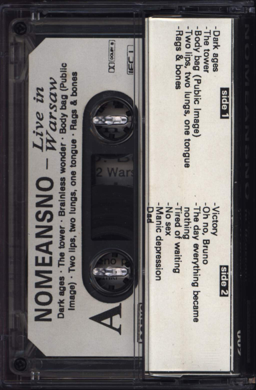 Nomeansno: Live In Warsaw, Compact Cassette