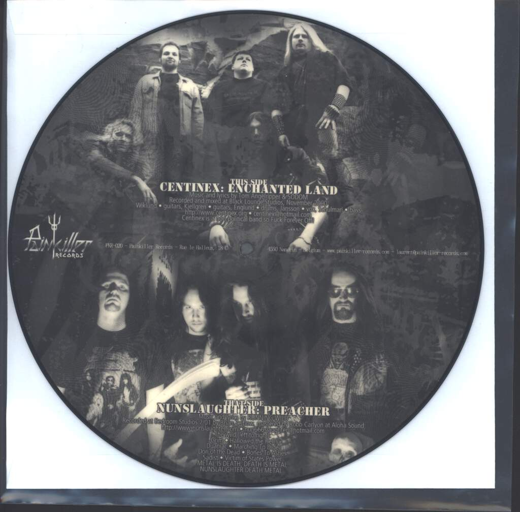 "Nunslaughter: Hail Germania, 10"" Vinyl EP"