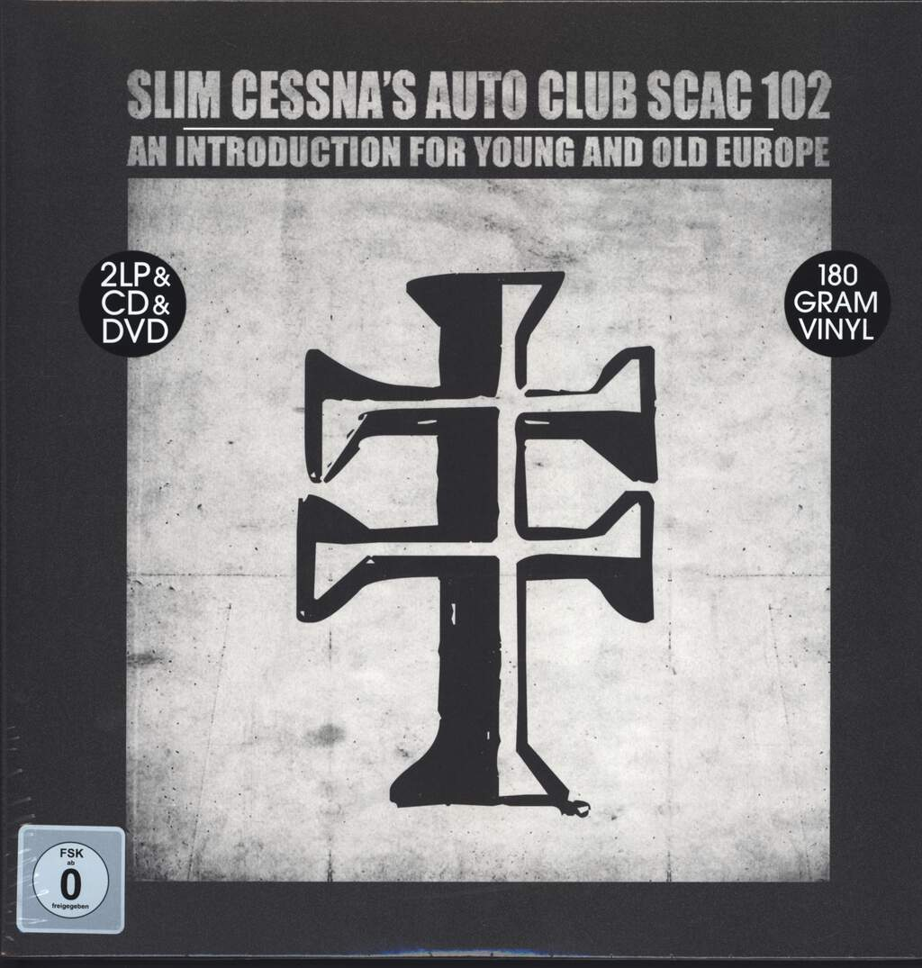 Slim Cessna's Auto Club: SCAC 102 An Introduction For Young And Old Europe, LP (Vinyl)