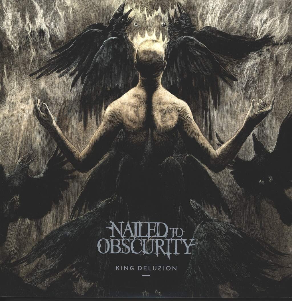 Nailed To Obscurity: King Delusion, LP (Vinyl)