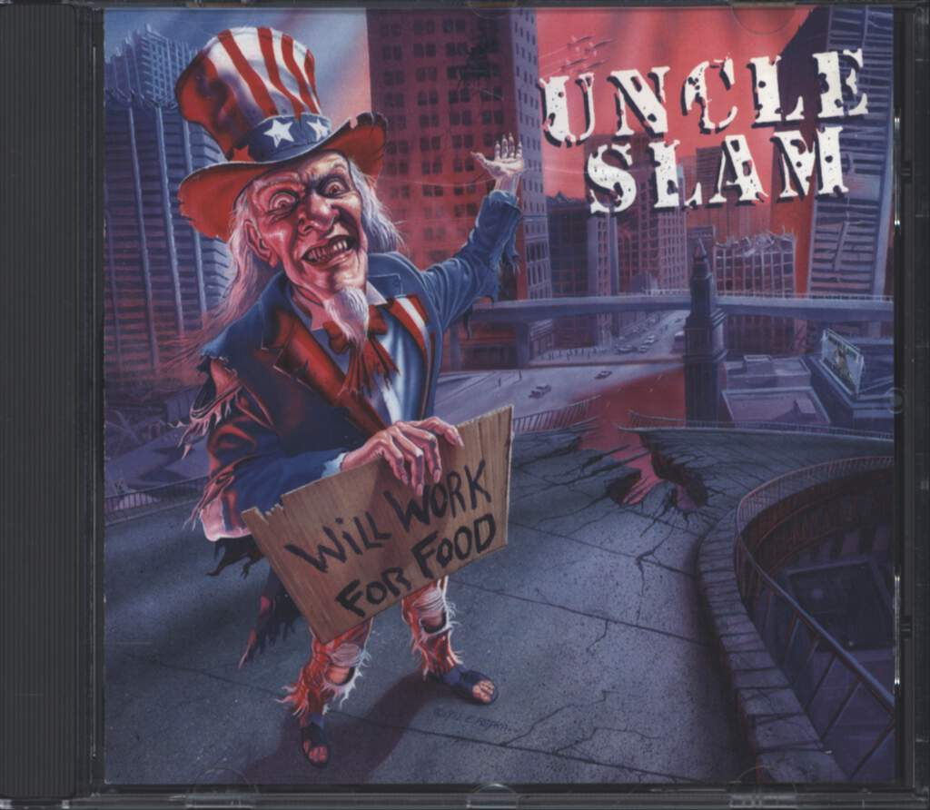Uncle Slam: Will Work For Food, CD