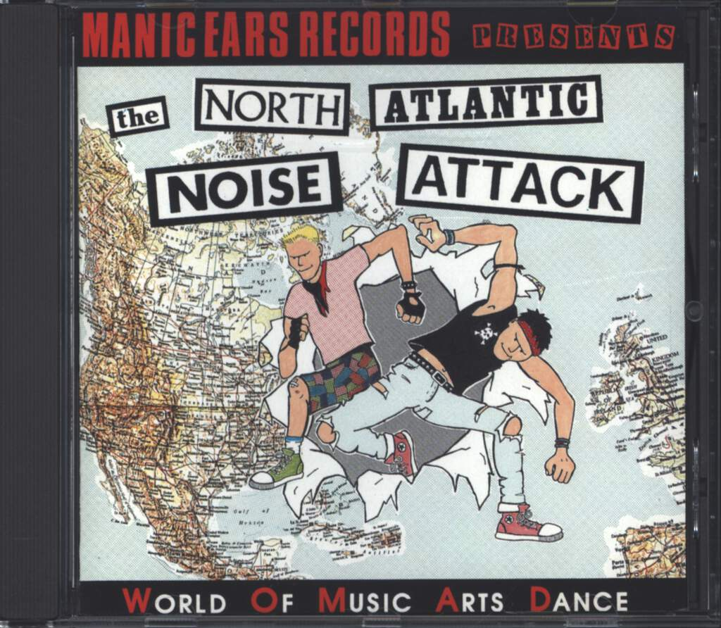 Various: The North Atlantic Noise Attack, CD