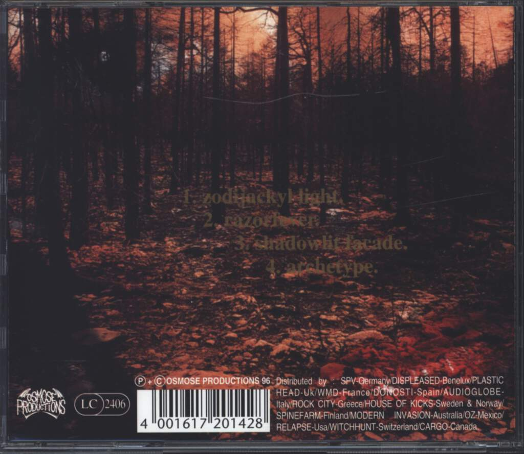 Dark Tranquillity: Enter Suicidal Angels, Mini CD