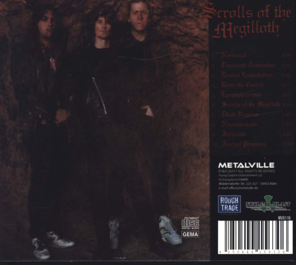 Mortification: Scrolls Of The Megilloth, CD