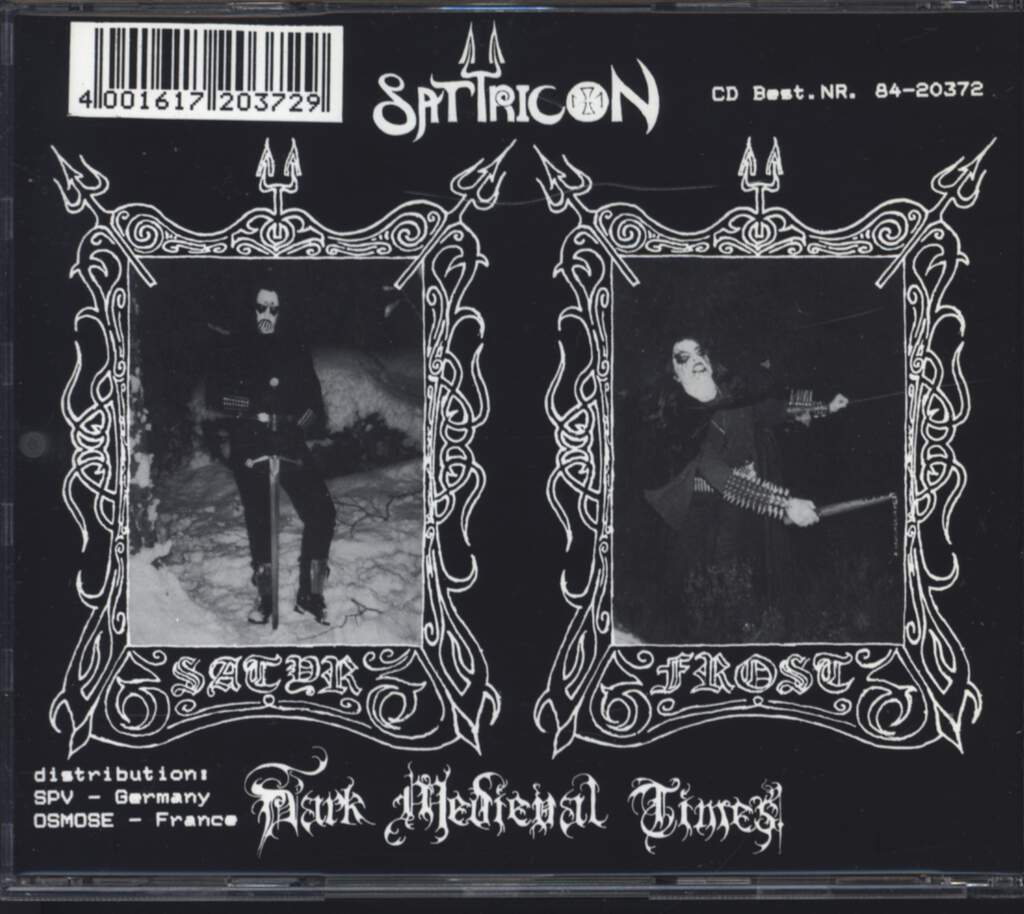 Satyricon: Dark Medieval Times, CD