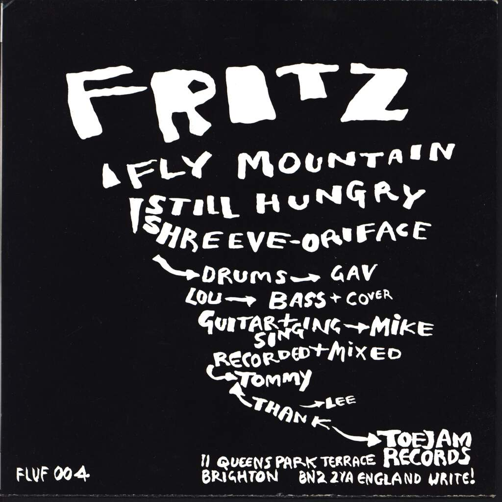 "Fritz: Fly Mountain, 7"" Single (Vinyl)"