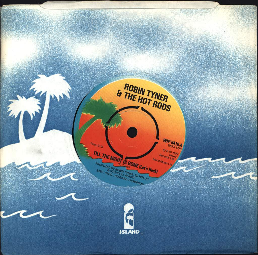 "Rob Tyner: Till The Night Is Gone (Let's Rock) / Flipside Rock, 7"" Single (Vinyl)"