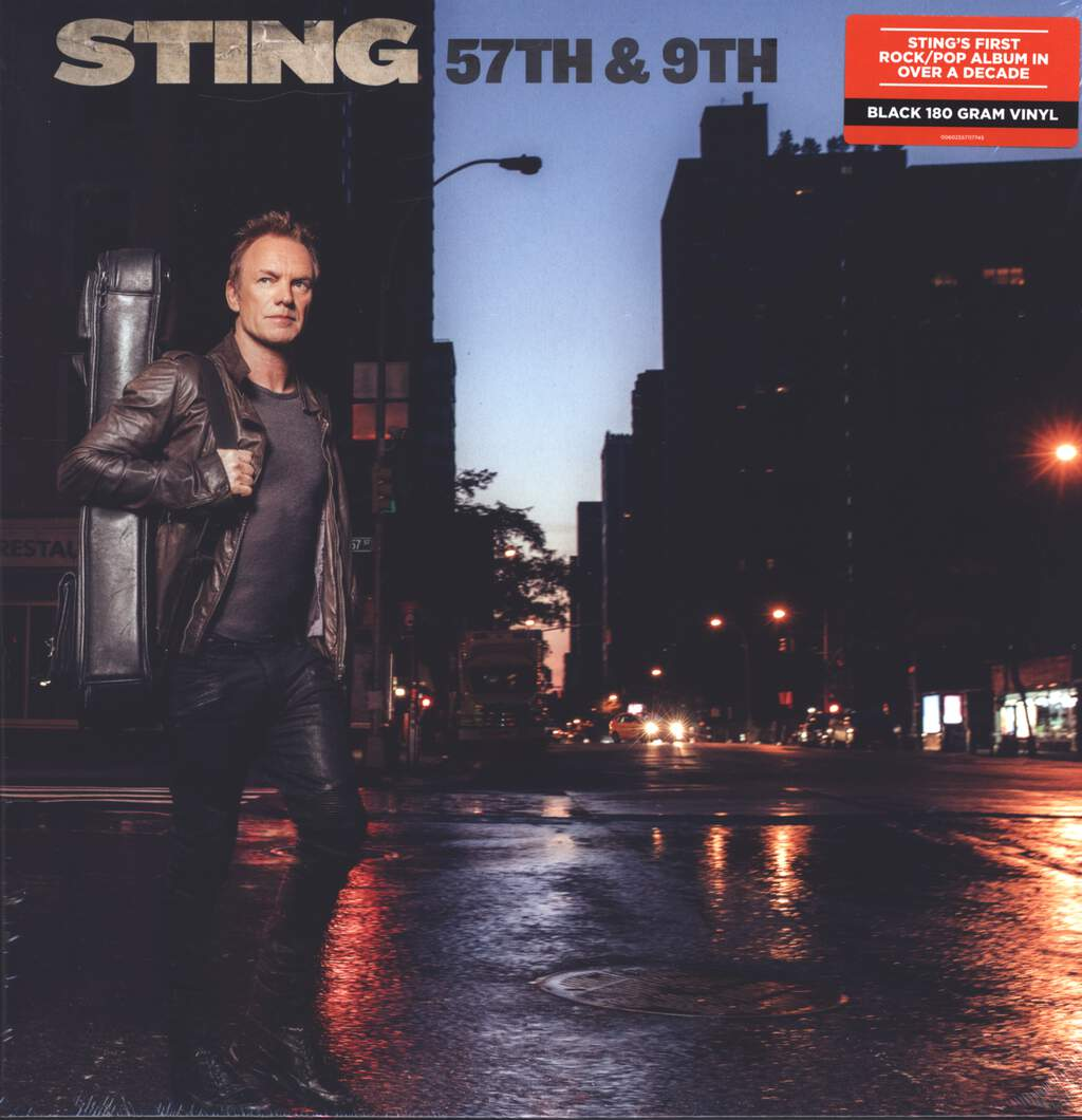 Sting: 57th & 9th, LP (Vinyl)