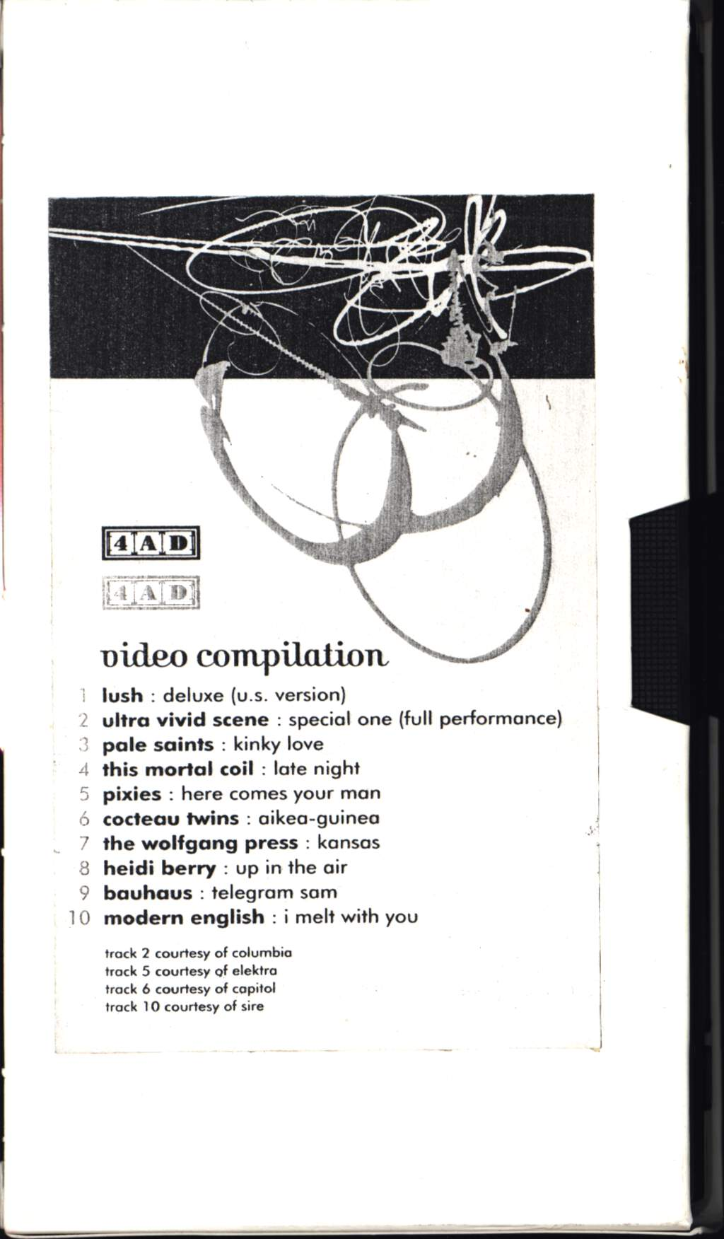 Various: 4AD Video Compilation, Video