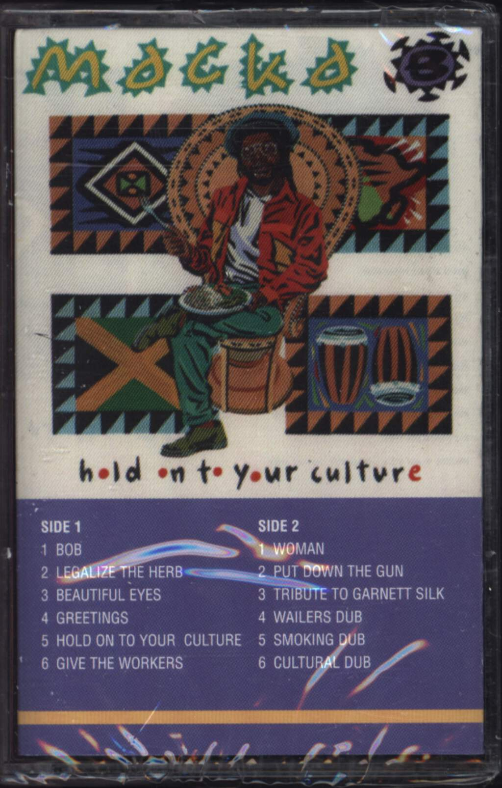 Macka B: Hold On To Your Culture, Compact Cassette