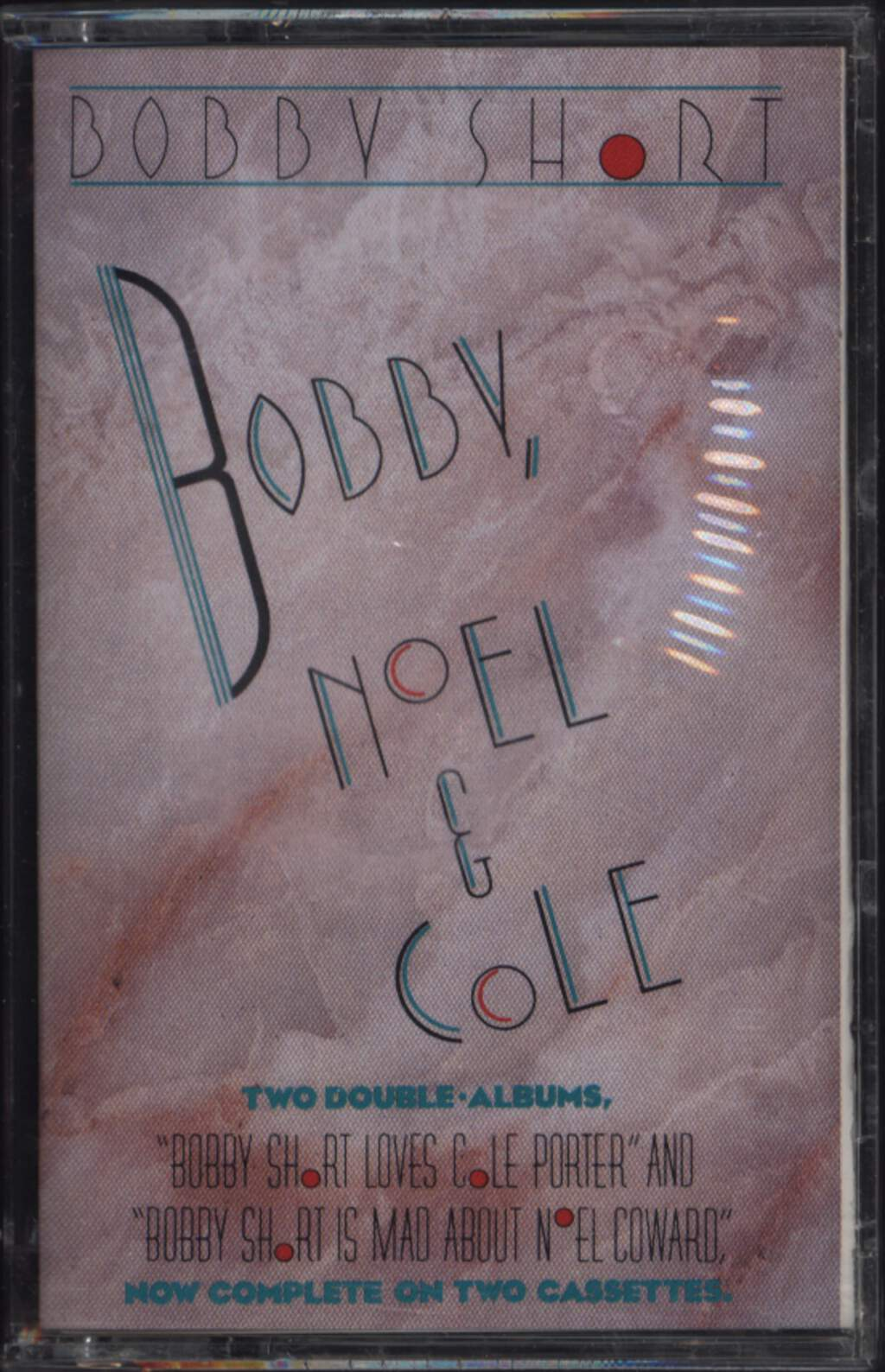 Bobby Short: Bobby Short Loves Cole Porter / Bobby Short Is Mad About Noel Coward, 2×Tape