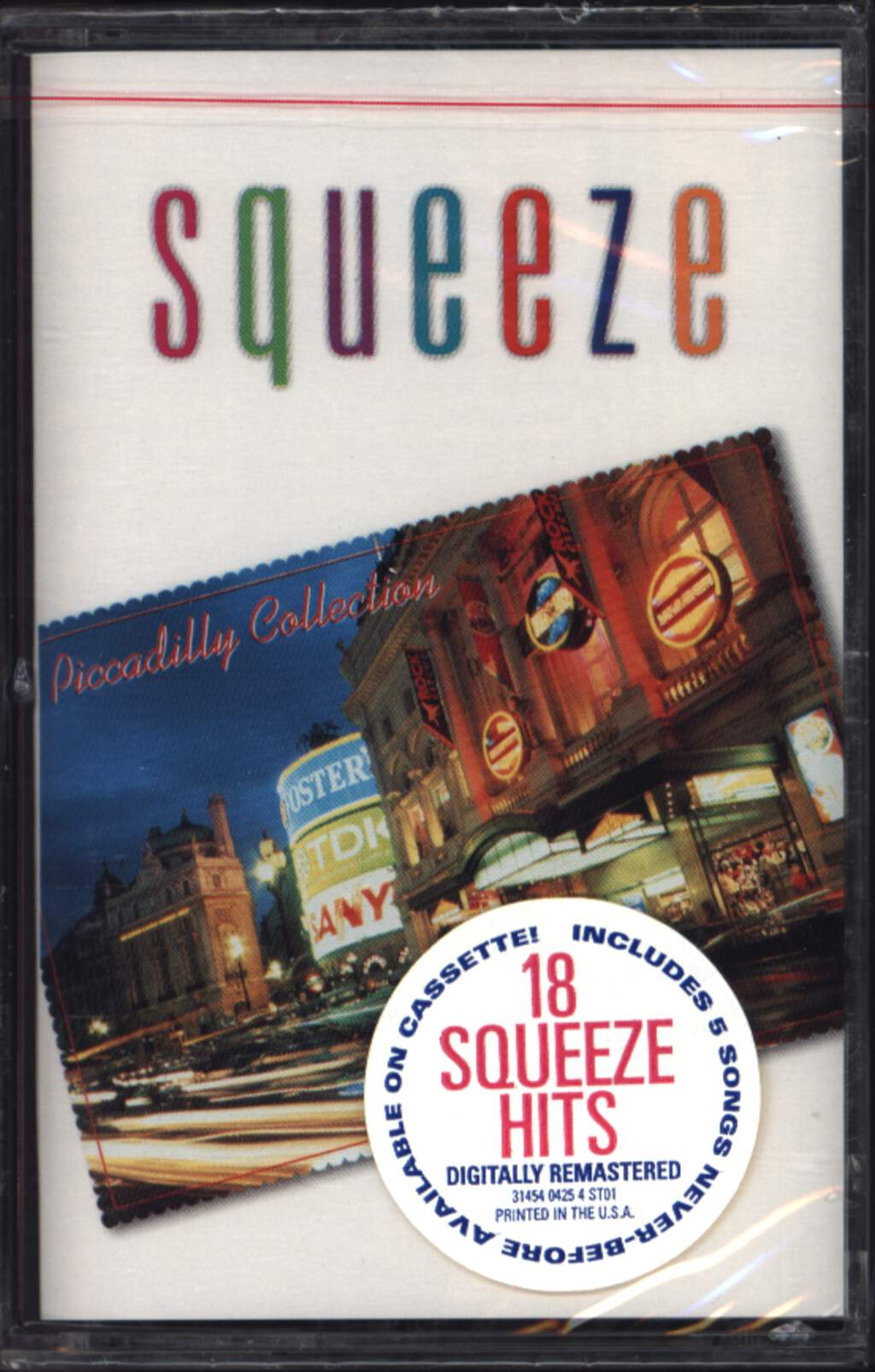 Squeeze: Piccadilly Collection, Compact Cassette