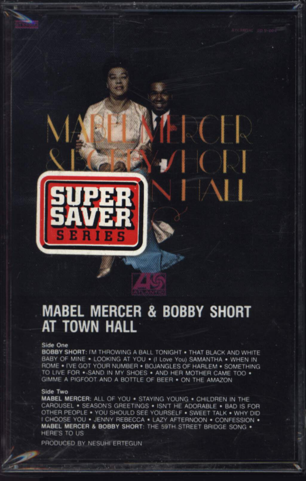 Mabel Mercer: Mabel Mercer & Bobby Short At Town Hall, Compact Cassette