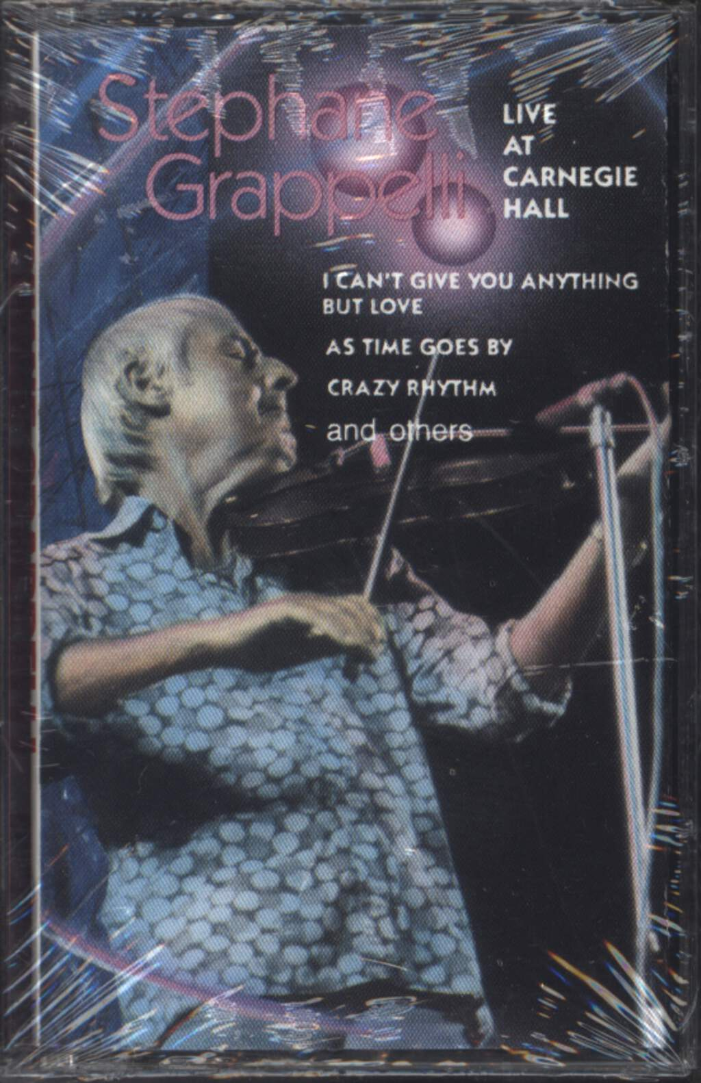 Stéphane Grappelli: Live At Carnegie Hall, Compact Cassette