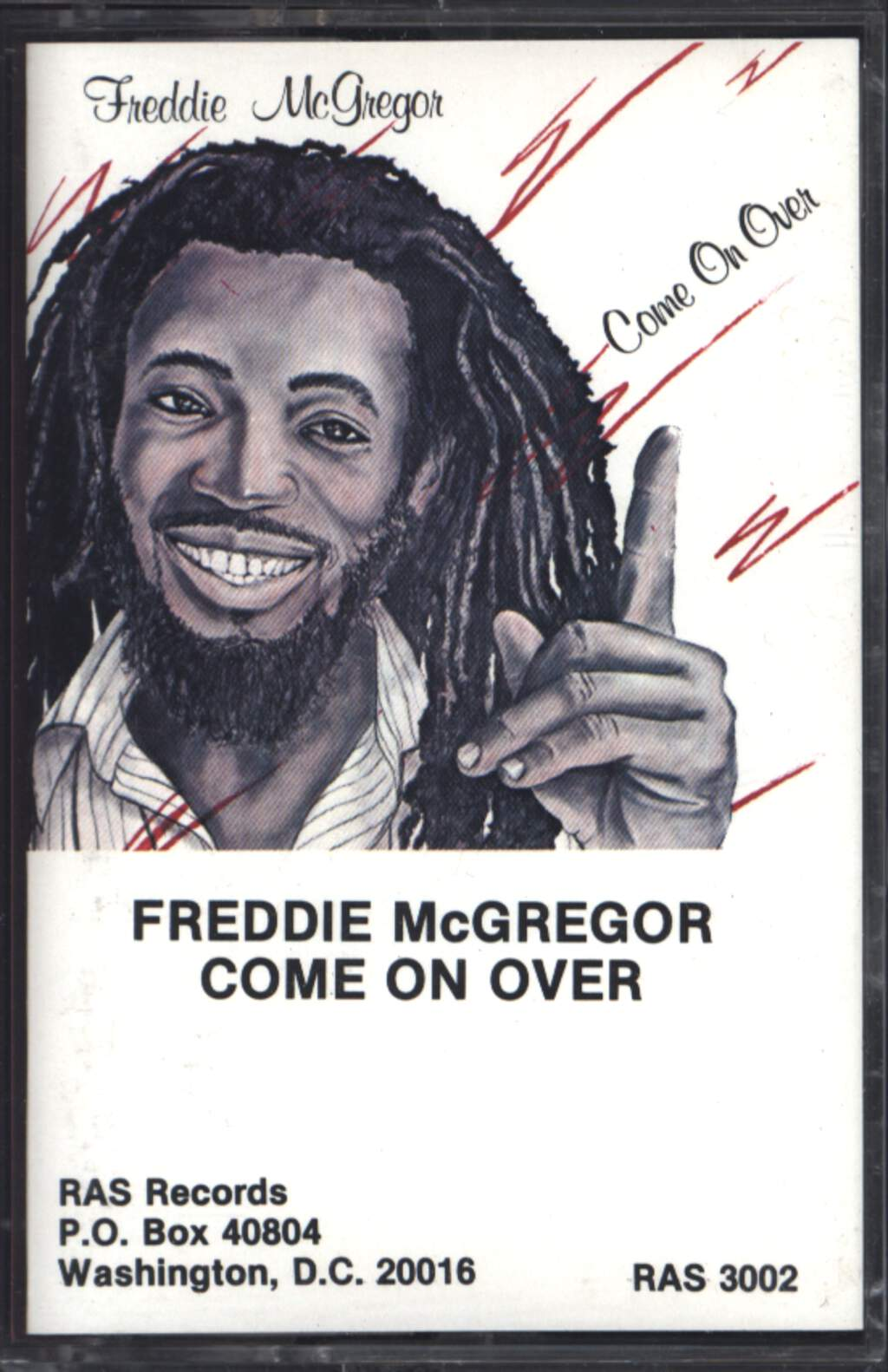 Freddie McGregor: Come On Over, Compact Cassette