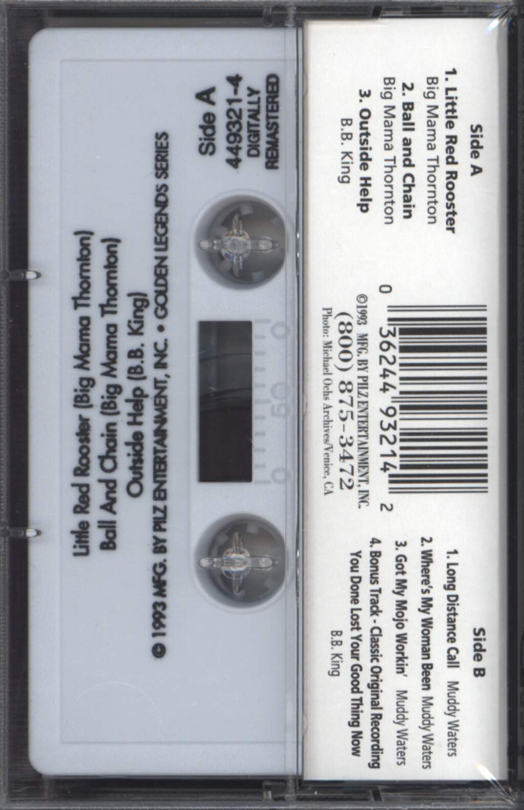 B.B. King: Live At Newport, Compact Cassette