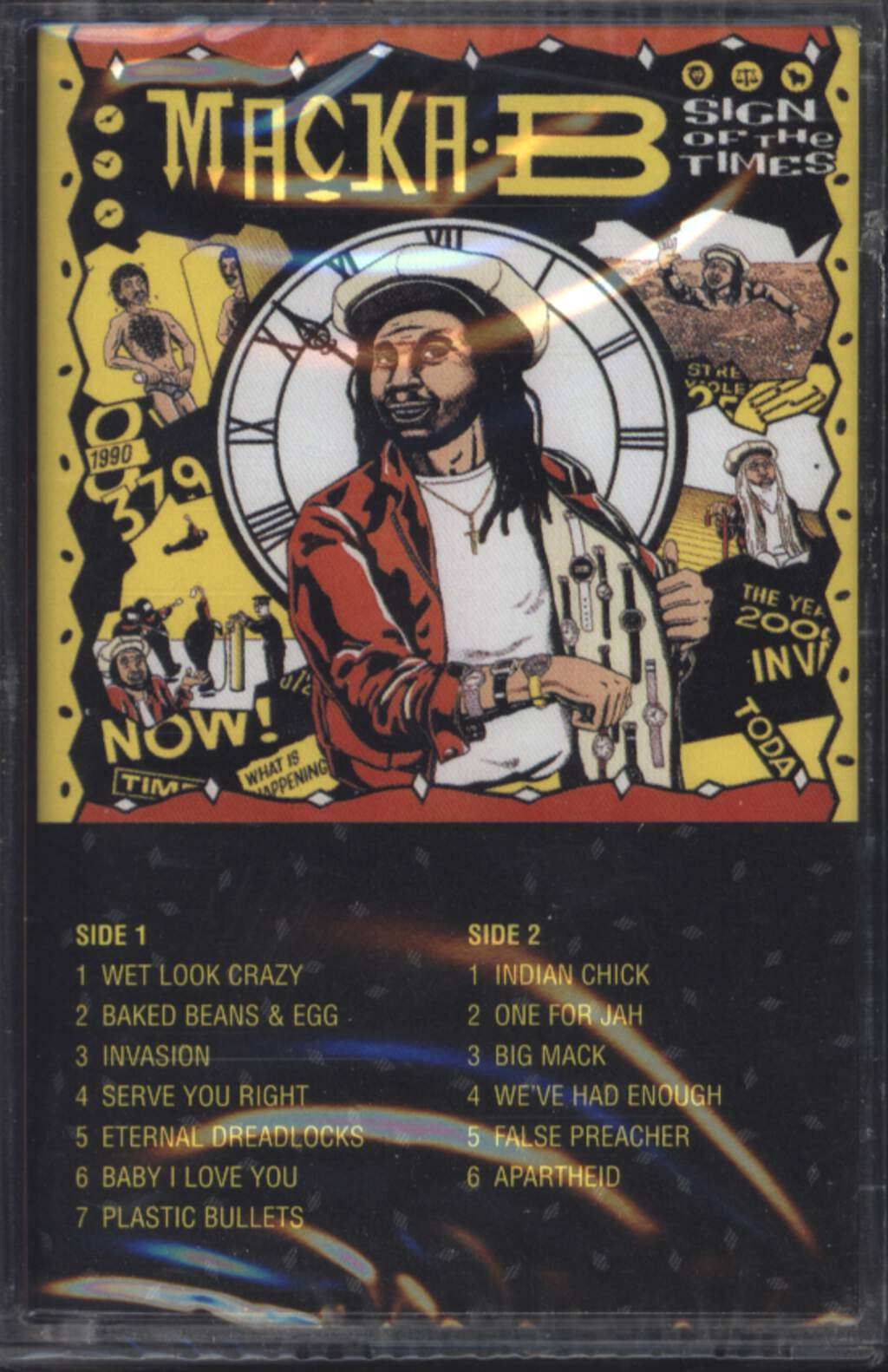 Macka B: Sign Of The Times, Compact Cassette