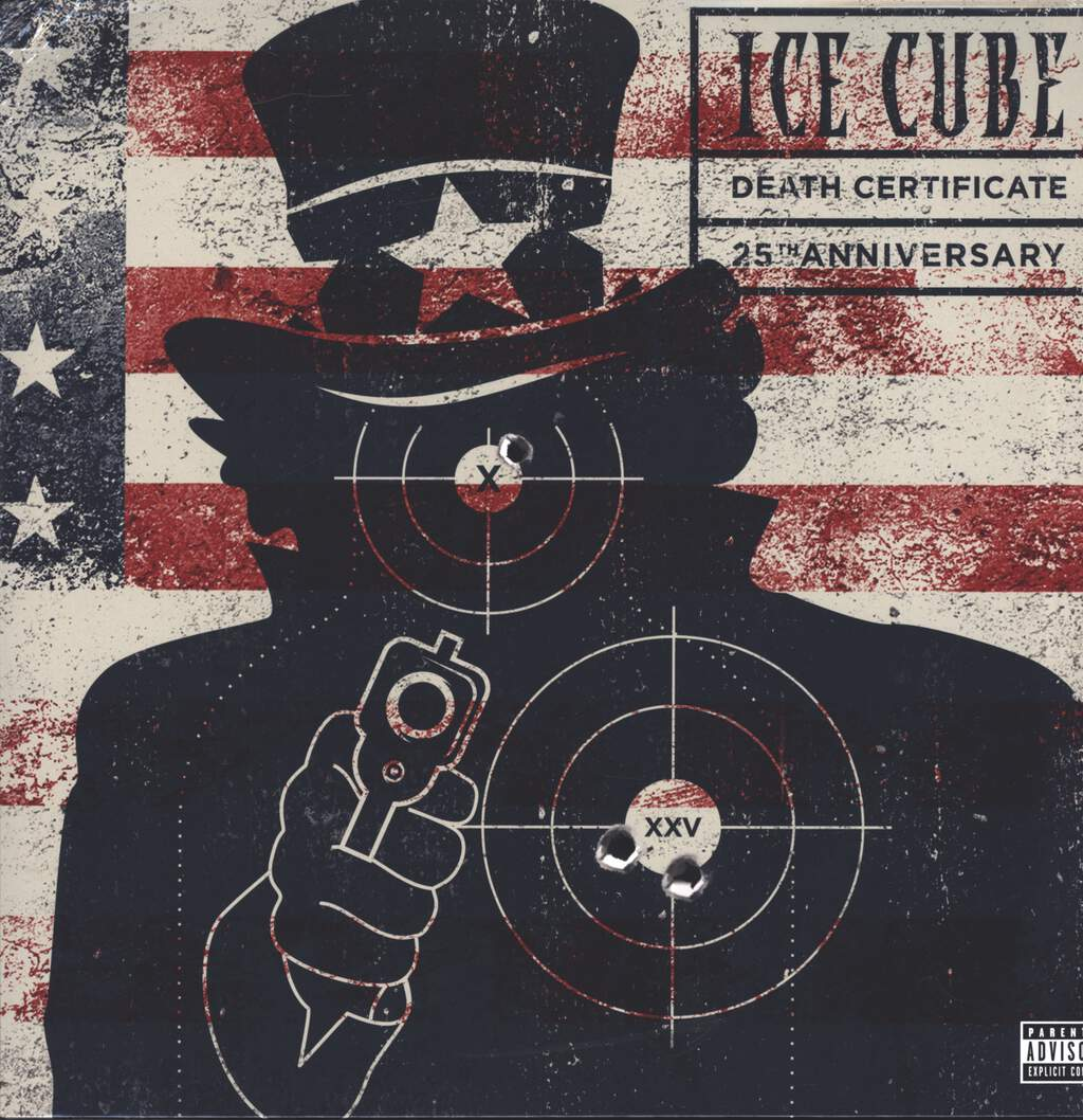 Ice Cube: Death Certificate (25th Anniversary), LP (Vinyl)