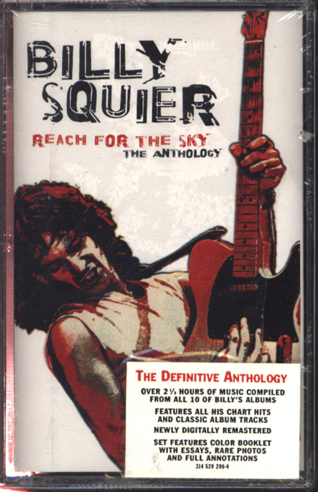 Billy Squier: Reach For The Sky: The Anthology, Compact Cassette