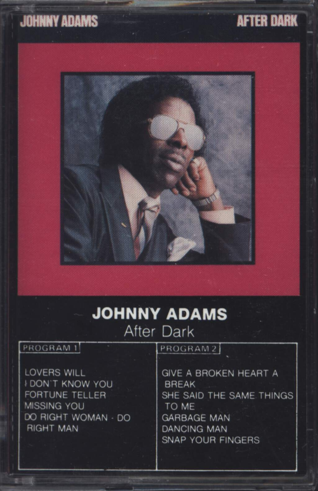 Johnny Adams: After Dark, Compact Cassette