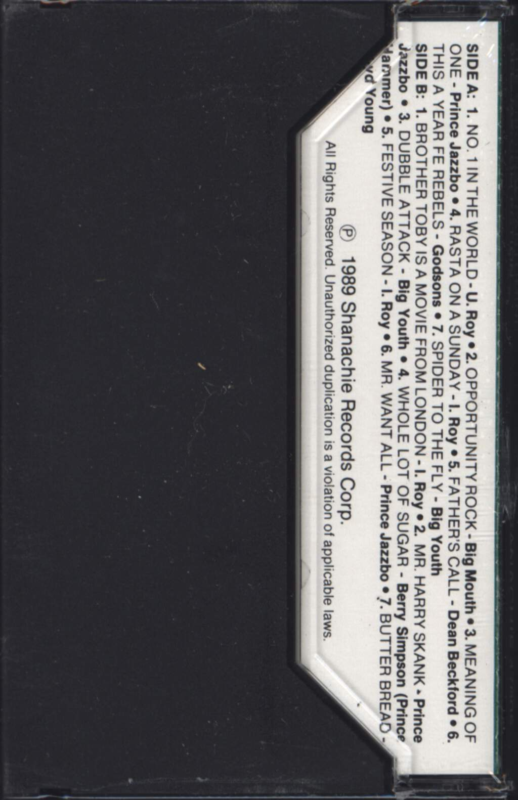 Various: Dubble Attack (The Original Pantomine Dee-Jay Collection 1972-74), Tape