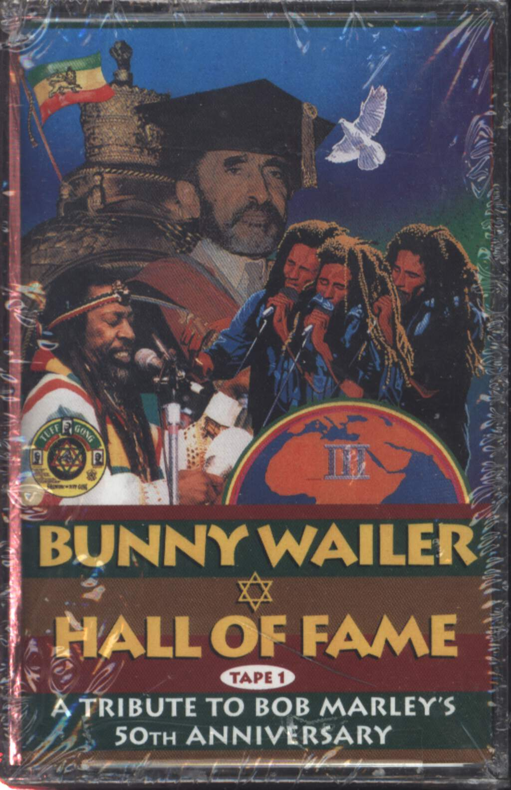 Bunny Wailer: Hall Of Fame A Tribute To Bob Marley's 50th Anniversary, Compact Cassette