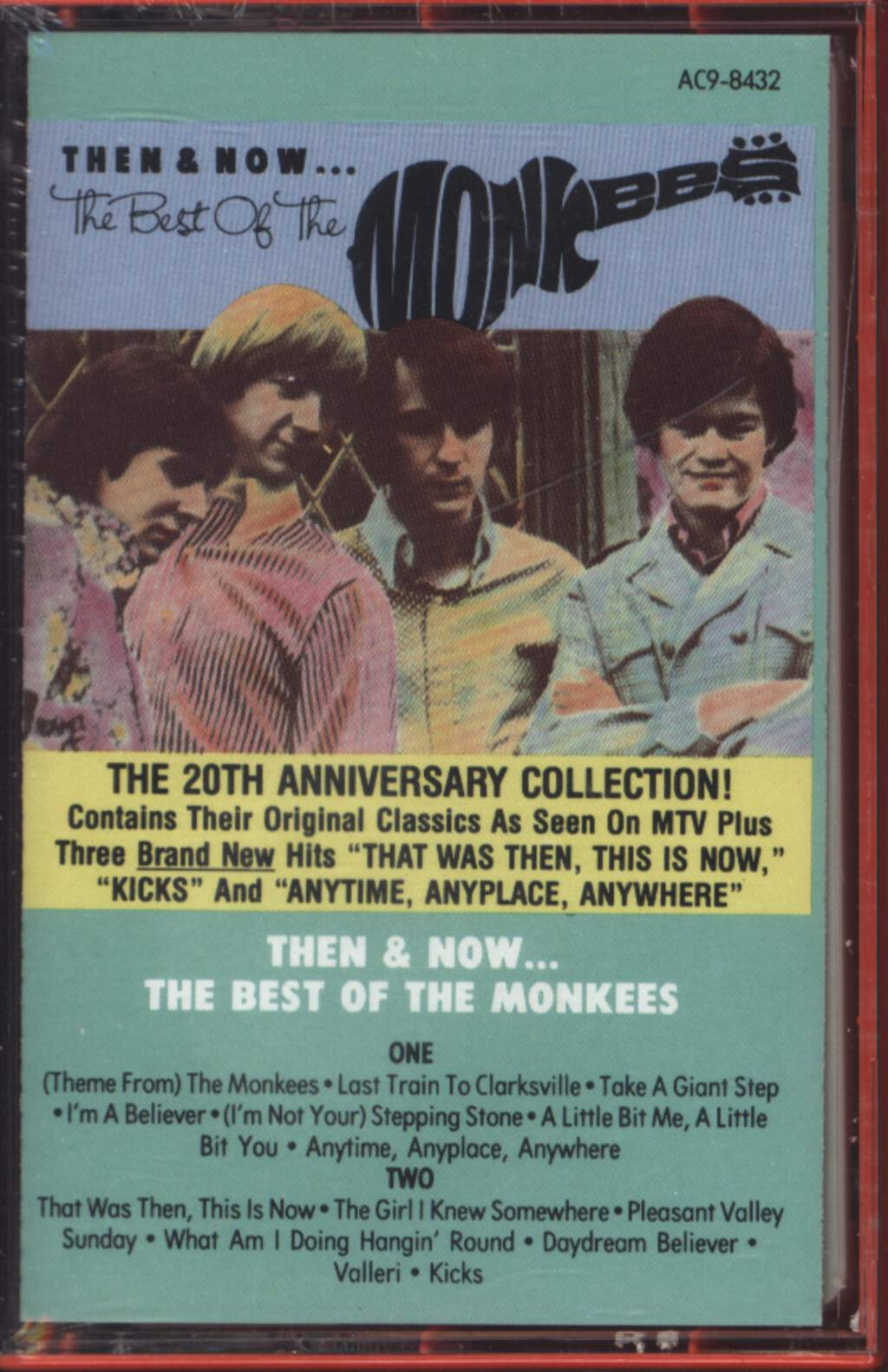 The Monkees: Then & Now... The Best Of The Monkees, Compact Cassette