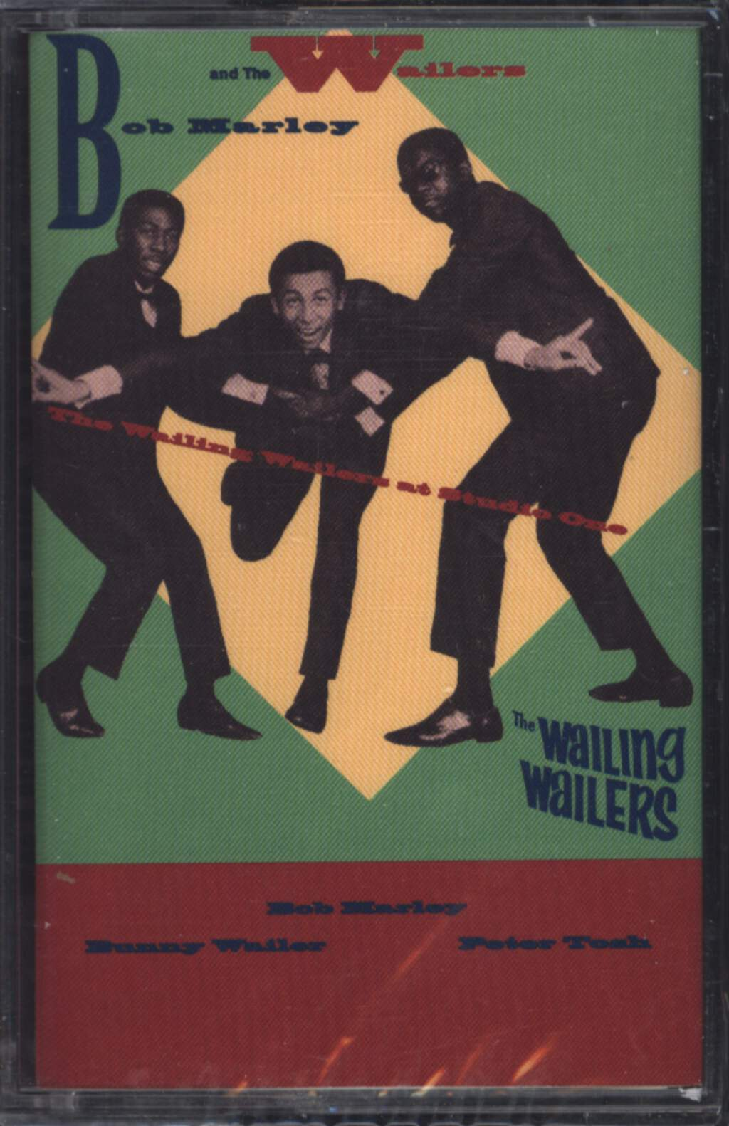 Bob Marley & The Wailers: The Wailing Wailers At Studio One, Compact Cassette
