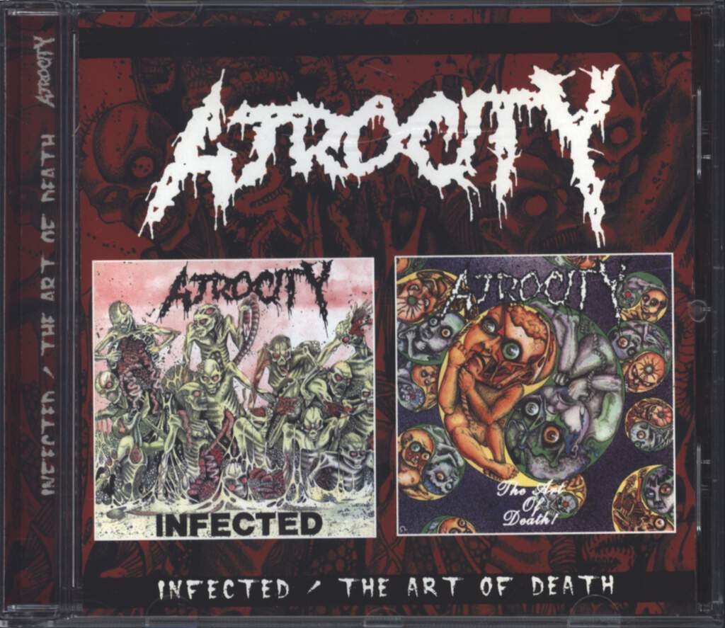 Atrocity: Infected / The Art Of Death, CD