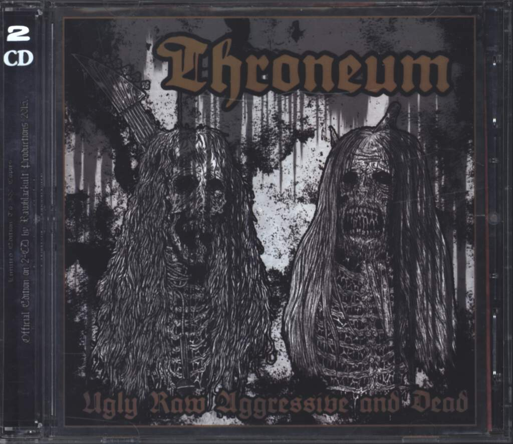 Throneum: Ugly, Raw, Aggressive And Dead, CD