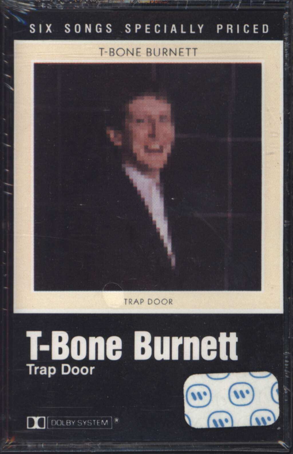 T-Bone Burnett: Trap Door, Compact Cassette
