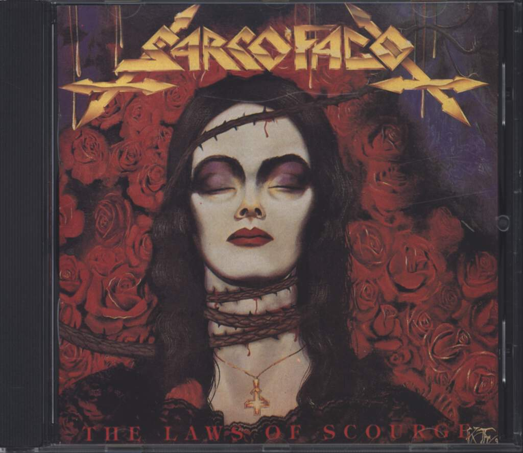 Sarcofago: The Laws Of Scourge, CD