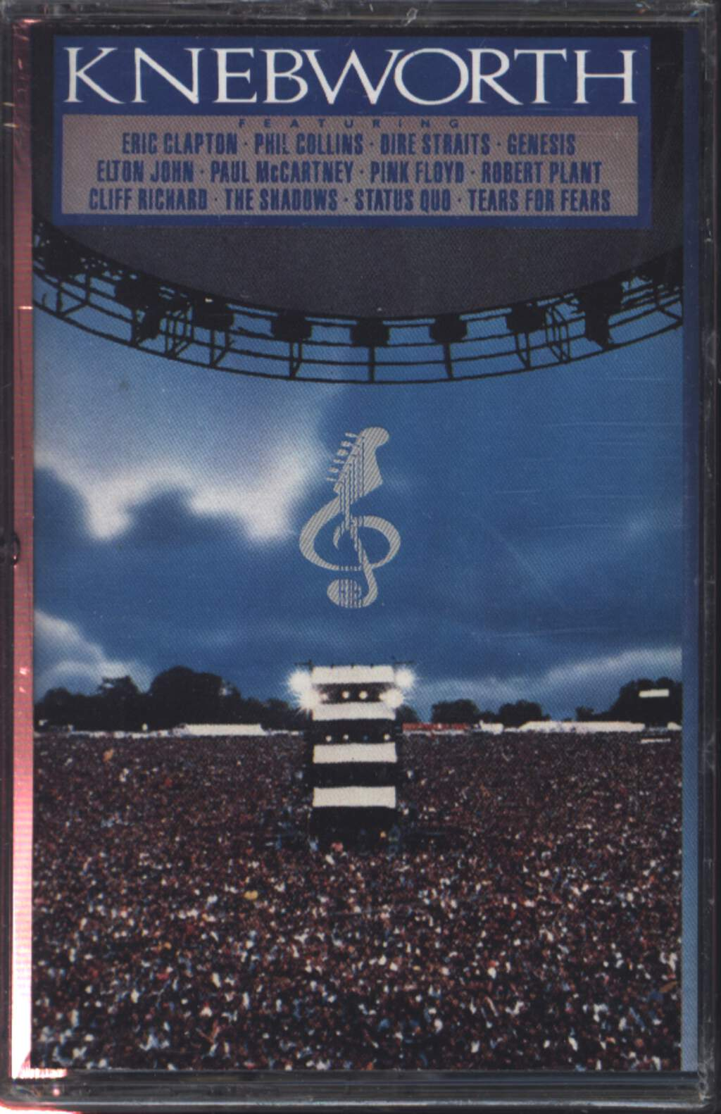 Various: Knebworth The Album, Compact Cassette
