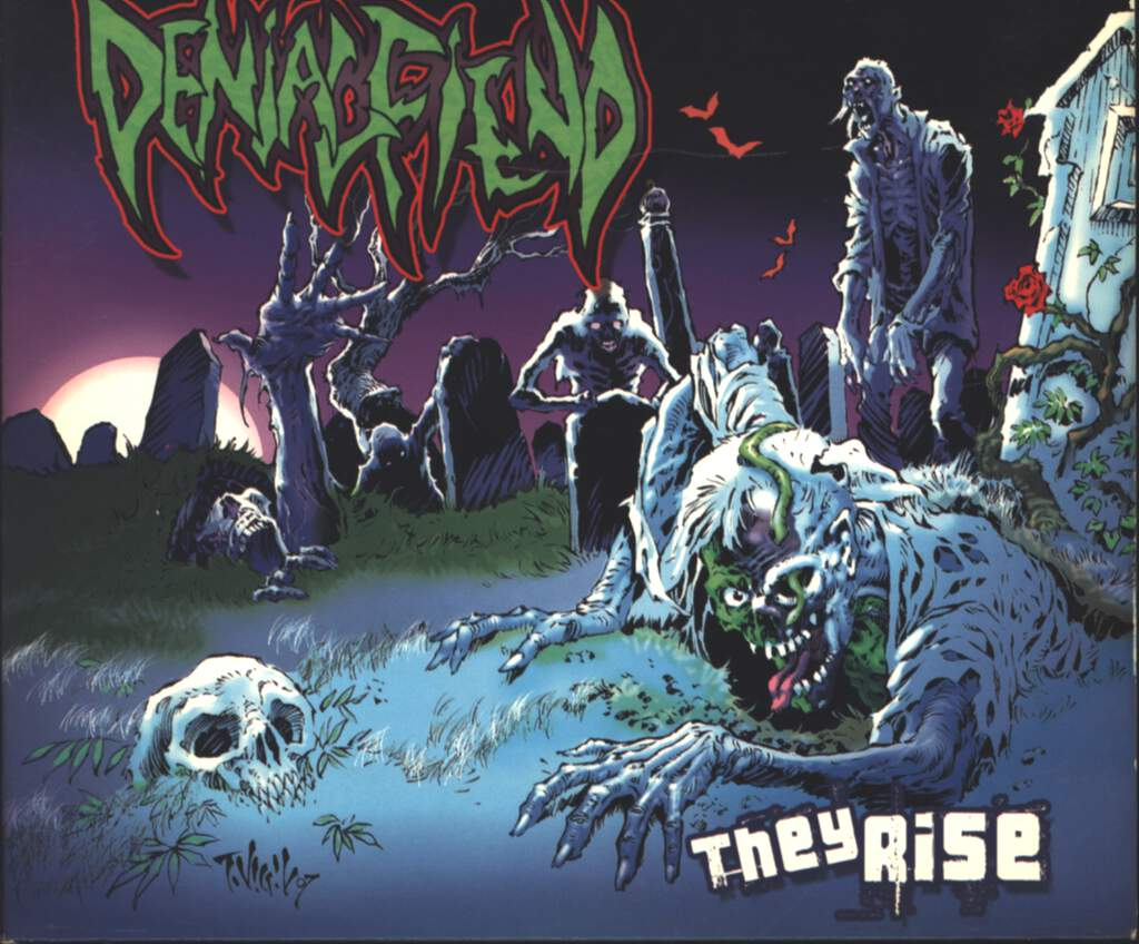 Denial Fiend: They Rise, CD