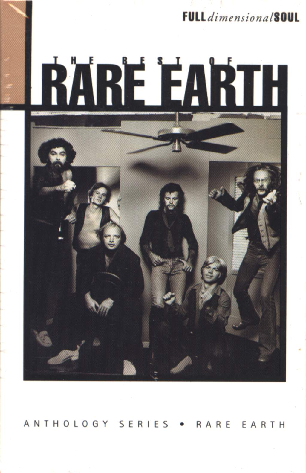Rare Earth: The Best Of Rare Earth, Compact Cassette
