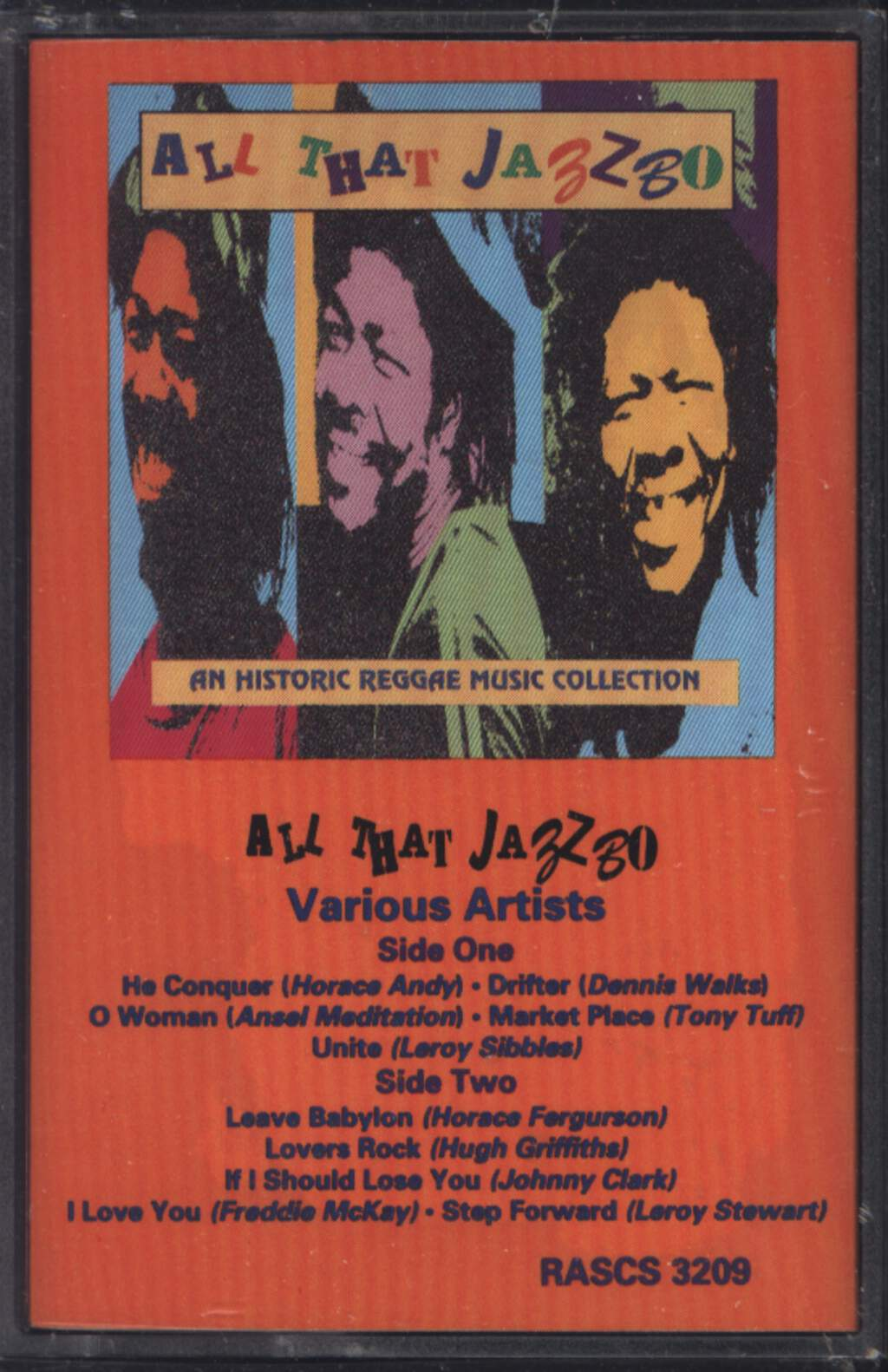 Various: All That Jazzbo: An Historic Reggae Music Collection, Tape