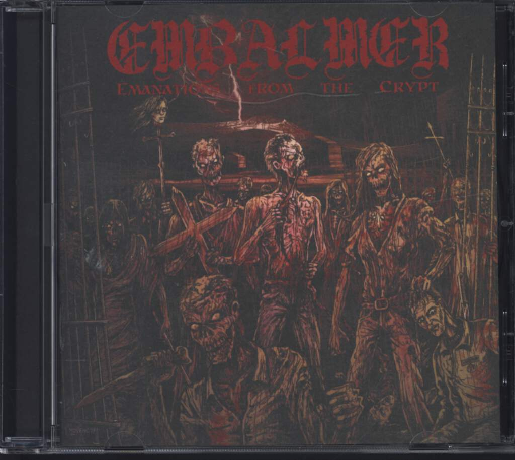 Embalmer: Emanations From The Crypt, CD