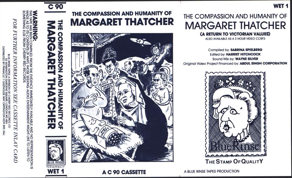 No Artist: The Compassion And Humanity Of Margaret Thatcher, Compact Cassette
