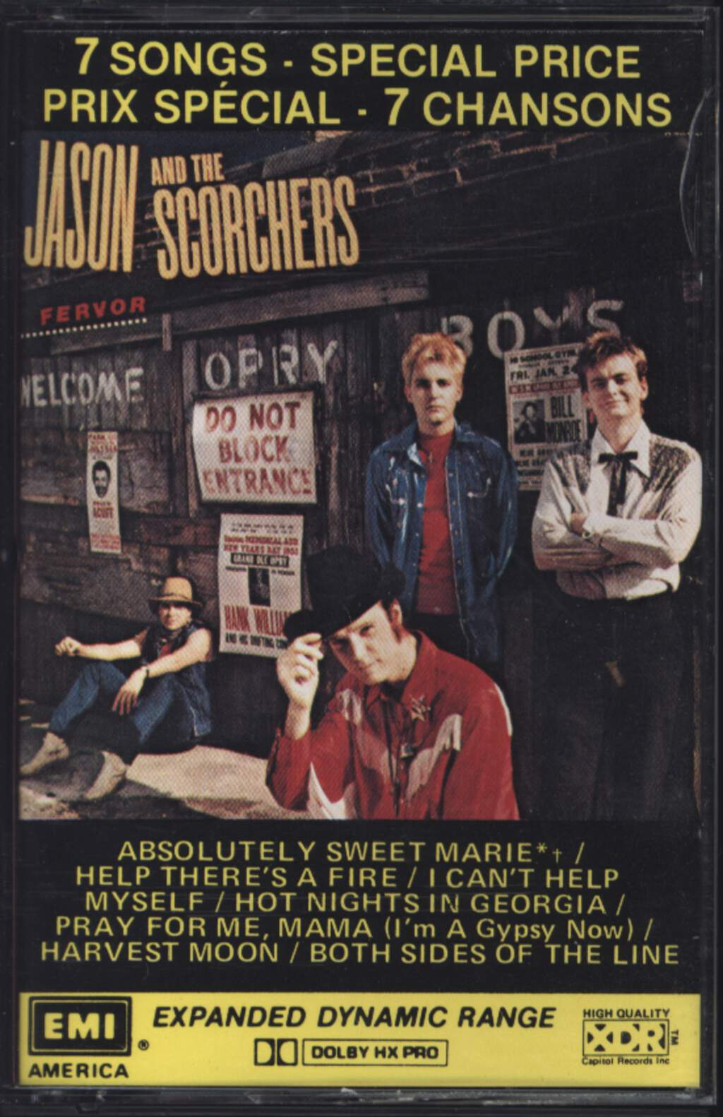 Jason & the Scorchers: Fervor, Compact Cassette