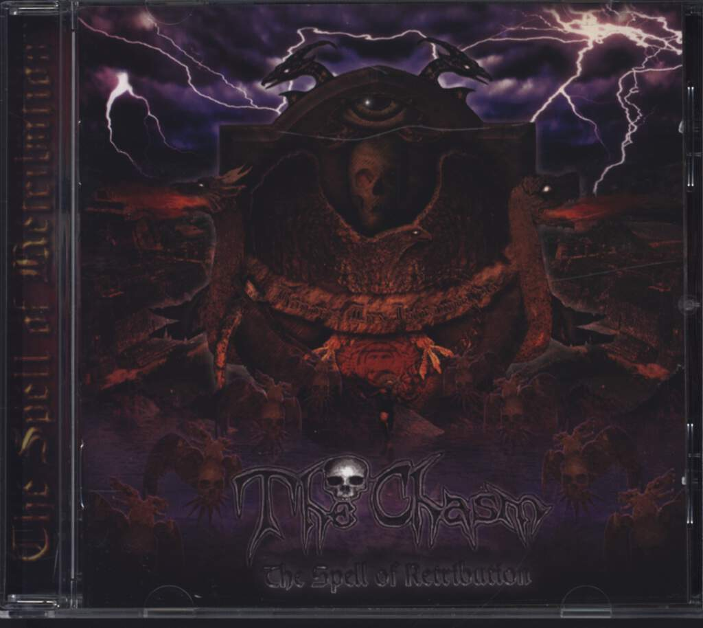 The Chasm: The Spell Of Retribution, CD