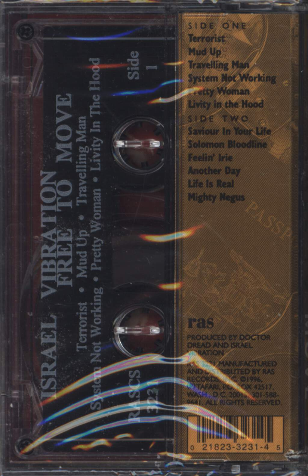 Israel Vibration: Free To Move, Compact Cassette