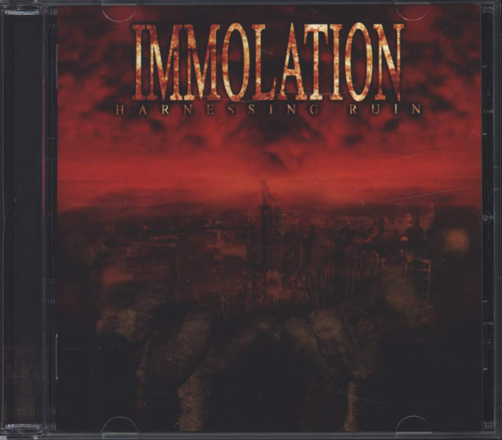 Immolation: Harnessing Ruin, CD