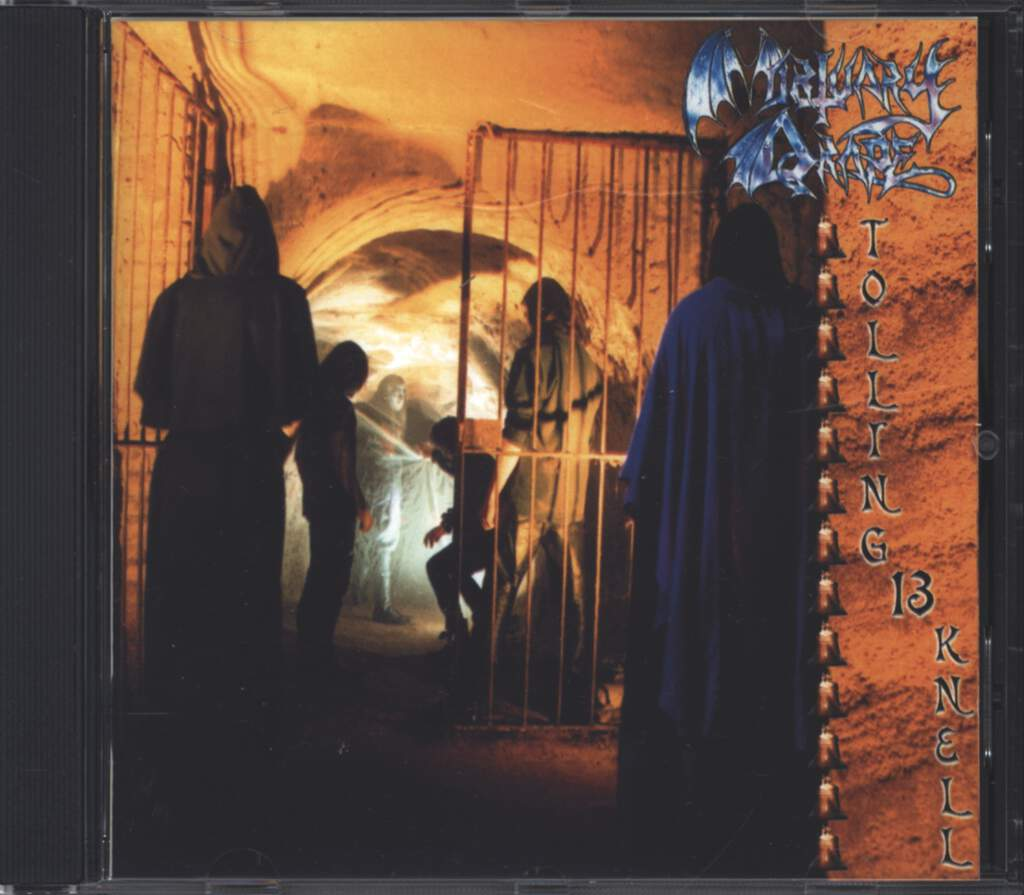 Mortuary Drape: Tolling 13 Knell, CD
