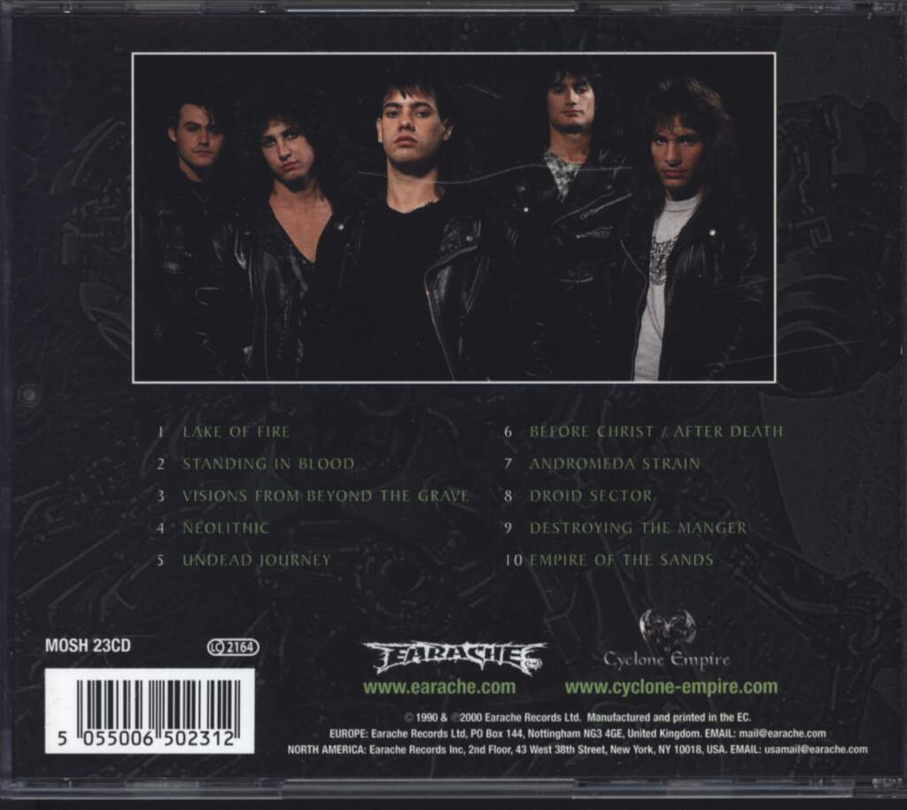 Nocturnus: The Key, CD