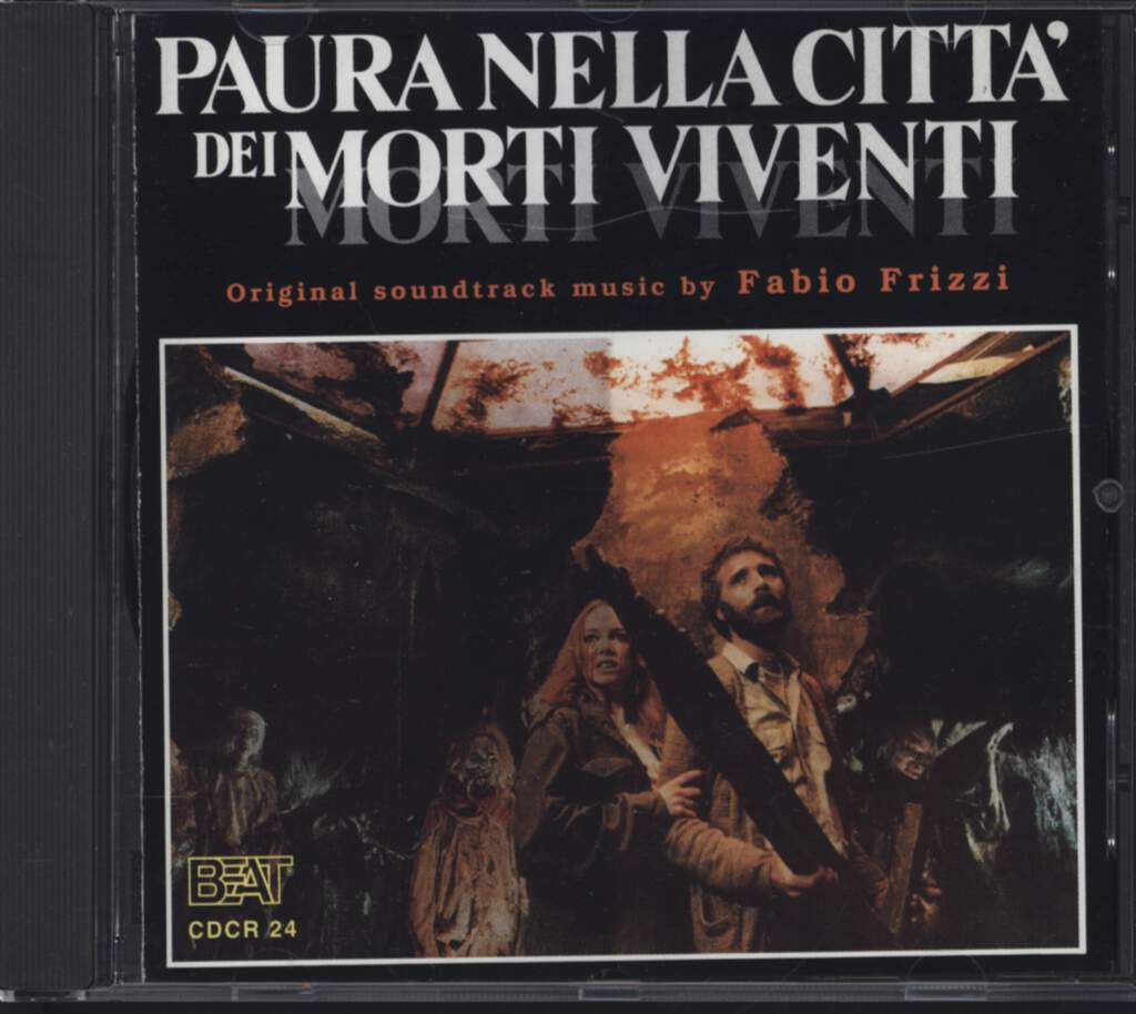 Fabio Frizzi: Paura Nella Citta Dei Morti Viventi / The Living Dead At The Manchester Morgue, CD