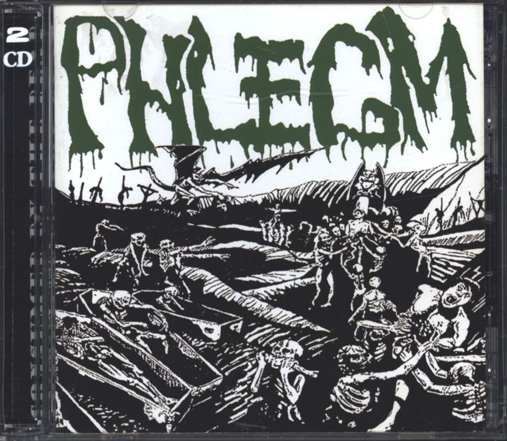Phlegm: Consumed By The Dead, CD