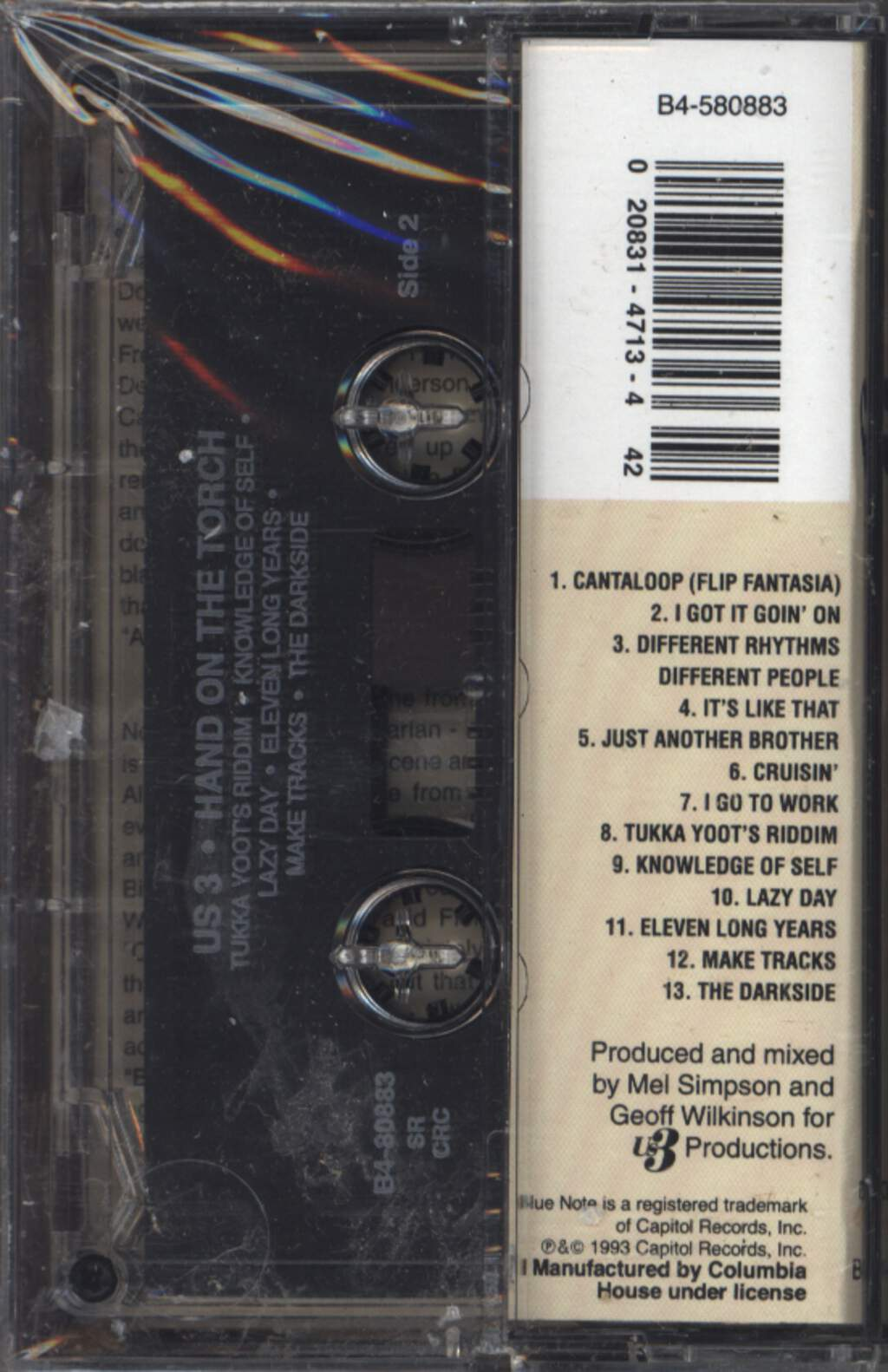 Us3: Hand On The Torch, Compact Cassette