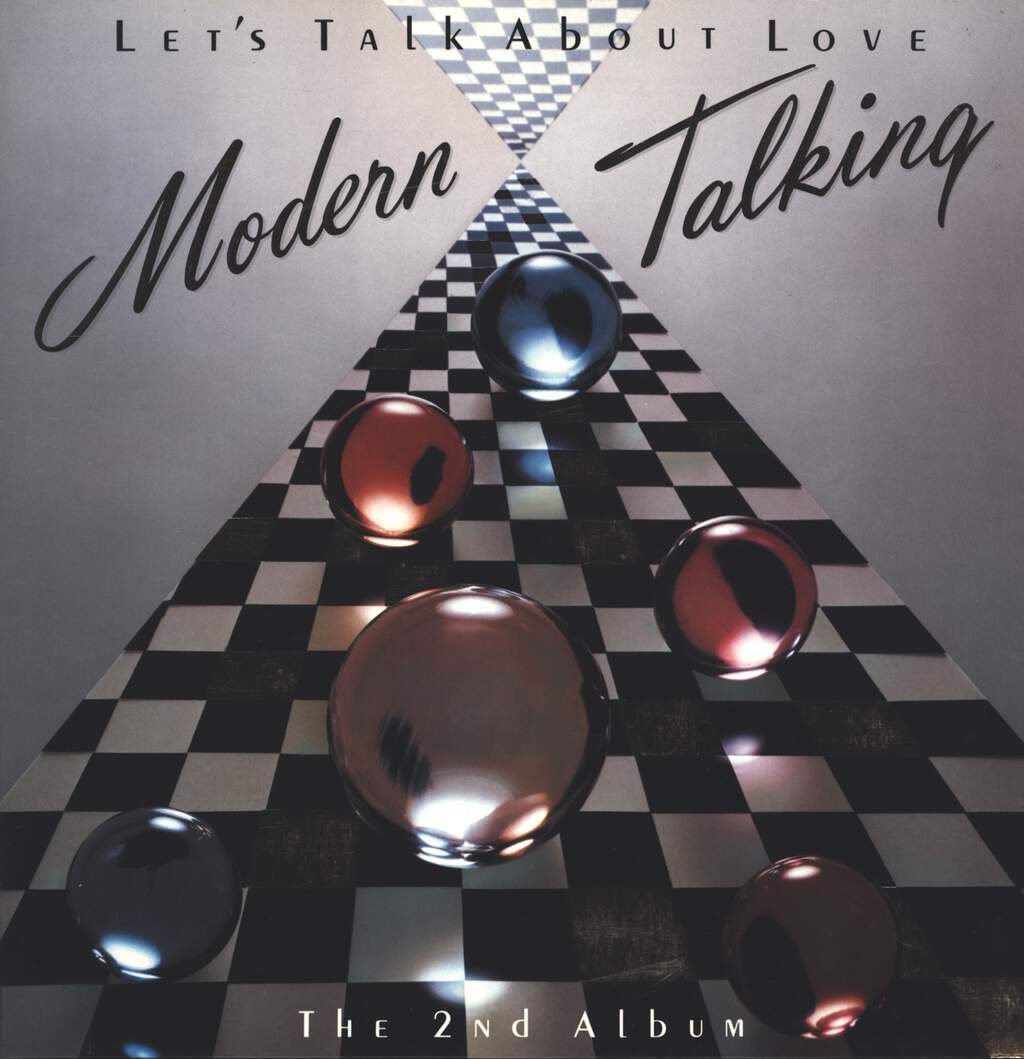 Modern Talking: Let's Talk About Love - The 2nd Album, LP (Vinyl)