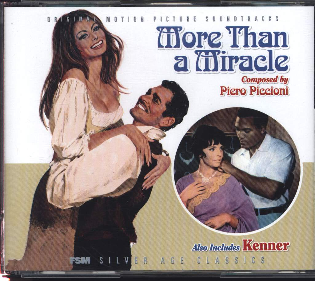 Piero Piccioni: Kenner / More Than A Musical, CD