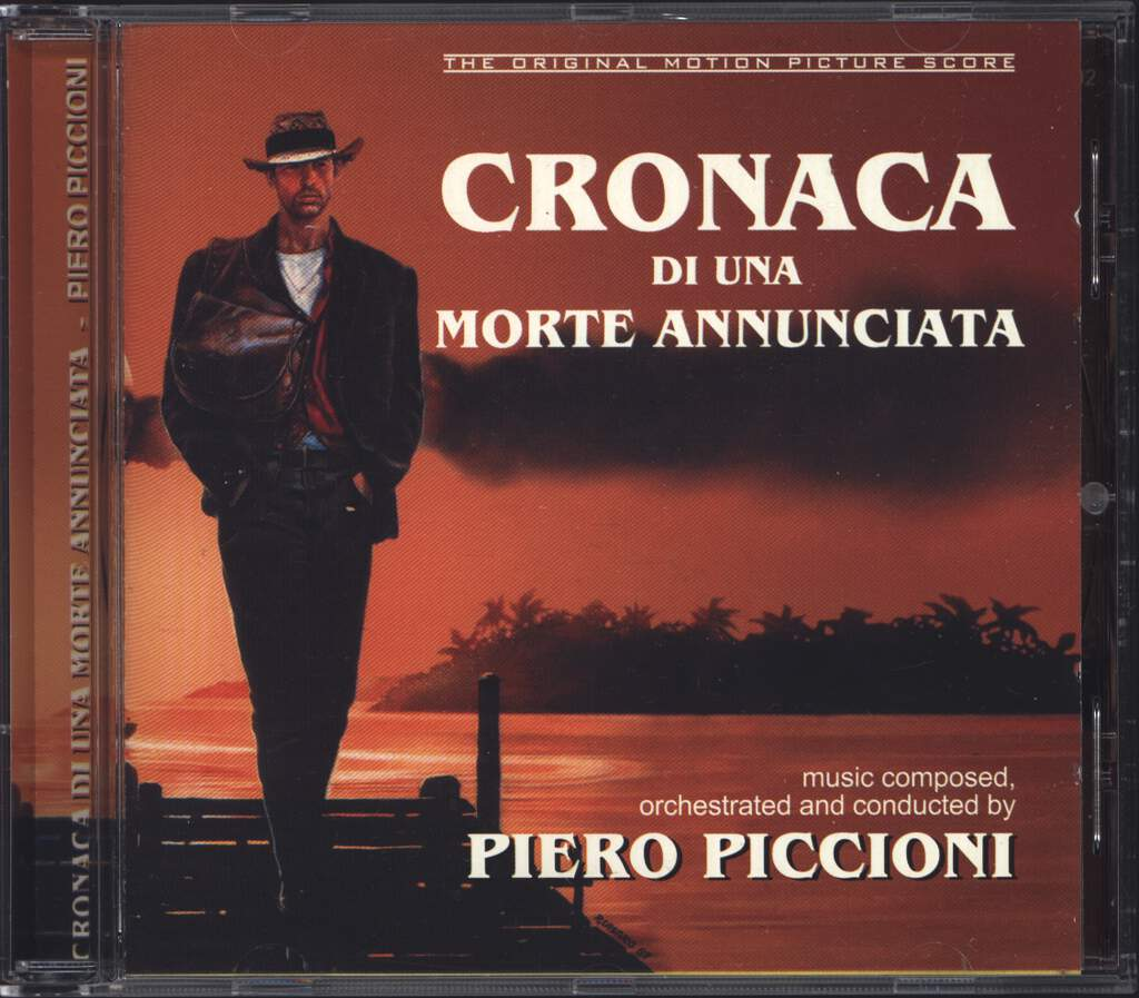 Piero Piccioni: Cronaca Di Una Morte Annunciata (Original Motion Picture Soundtrack), CD